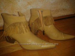 Ботинки ковбойки женские р. 38