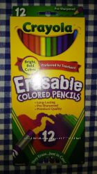 Карандаши Crayola 12 шт Стираются