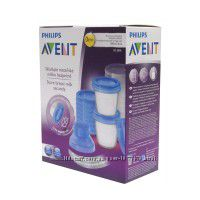 контейнеры рhilips аVENT для молока набор поштучно, адаптер переходник