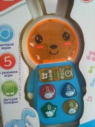 Разные 3 вида Умный телефон смартфон Утенок, Зайчик, Кот том котофон