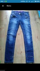 Джинсы Levrictor jeans мужские на подростка размер 28, 34