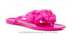 Вьетнамки сланцы тапки силиконовые резиновые 36 р с цветком