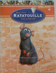 Детская развивающая книга Ratatouille-Disney Pixar, на англ. языке