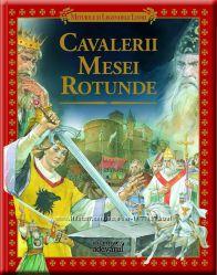 Рыцари Круглого Стола детская книга об короле Артуре на итальянском языке
