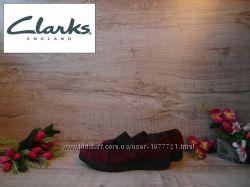 туфли мокасины балетки Clarks как новые