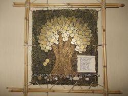 Денежное дерево, картина