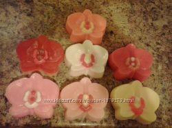 Мыло ручной работы- царство орхидей
