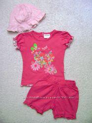 Летняя одежда для девочки 3-6 мес