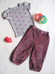 Джинсы штаны Matalan и футболка Gap 12-18 мес.