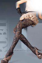 Шикарные итальянские колготки с узорами фирмы Oroblu