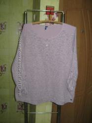 Стильный молодежный полувер джемпер блуза с длинным рукавом Cecil р. XL. Гре