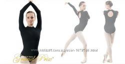 Купальник длинный рукав для тренировок и гимнастики