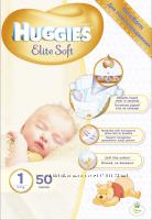 Подгузник Huggies Elite Soft 1, 2, 3, 4, 5