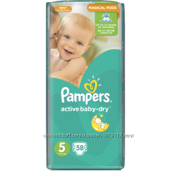 Pampers Active Baby Giant Pack размер   5