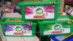 Капсулы для стирки Ariel 3 в 1
