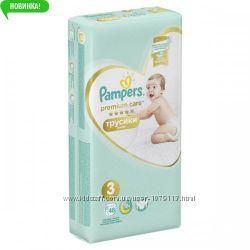 Подгузники-трусики Pampers Premium Care 3, 4, 5, 6