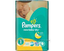 Подгузники  Pampers Active Baby 1, 2, 4, 4, 3