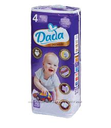 Подгузники Dada премиум comfort fit 2, 3, 4, 5.