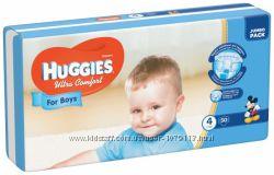 Памперсы Huggies Ultra Comfort новая фасовка.
