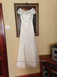 Элегантное свадебное платье на выпускной