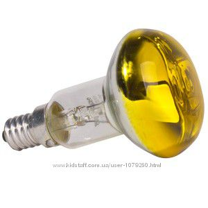 ЛАМПА рефлекторна Osram Е14 жовта R50  40W CONC