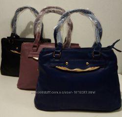 Женская сумка на три отделения