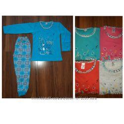 Пижама  на баечке для девочек детская и подросток
