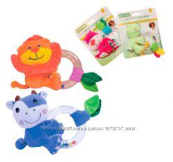 Новые погремушки, игрушки и грызунки BABY TEAM в ассортименте