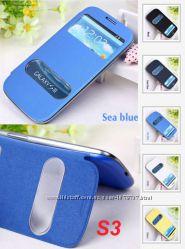 Новый чехол-книжка Flip Cover Samsung Galaxy S3, S4, S5