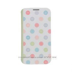Тонкий чехол-книжка Ozaki OCoat Slim Folio Samsung Galaxy S4 i9500