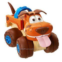 Интерактивная игрушка щенок-машинка на радиоуправлении, голосовые команды,