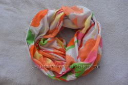 Яркий шарф-снуд PIECES