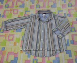 Стильная взрослая хб рубашка для малыша Old navy