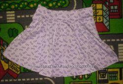 Моднявая легкая юбка Лето