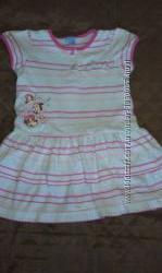 Летние платья на девочку 1-2 года