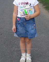 Джинсовая юбка    Next   размер 3- 4 года
