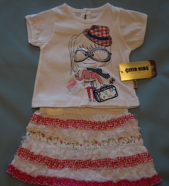 Детский летний костюм Модница