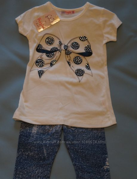 Летний костюм Бантик для девочки