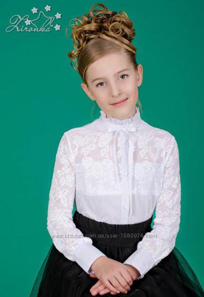 Блуза школьная очень красивая
