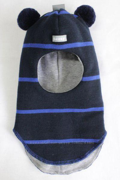 Шапка-шлем Мишка от ТМ Beezy для мальчиков
