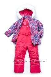 Зимний костюм-комбинезон Bubble pink для девочки