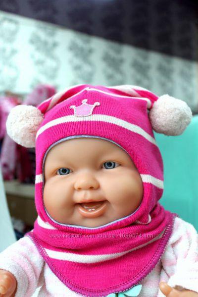 Шапка-шлем р. 0 для новорожденных TM Beezy
