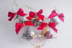 Набор новогодних шаров Рождество.