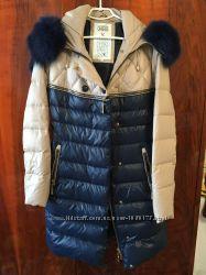 Зимнее пальто - пуховик, размер L, отличное состояние и качество.