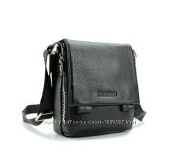 Солидная кожаная мужская сумка от Итальянского бренда. БЕСПЛАТНАЯ ДОСТАВКА