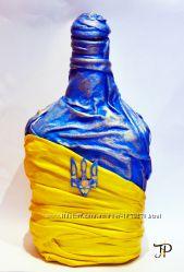 Hand Made оформление бутылки