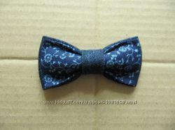 бабочка галстук из джинса