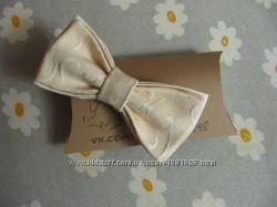 Бабочка светлая метелик галстук