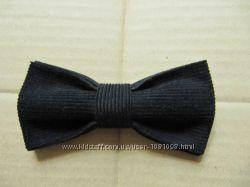 бабочка черная элегантная галстук