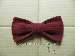 бабочка бордовая галстук